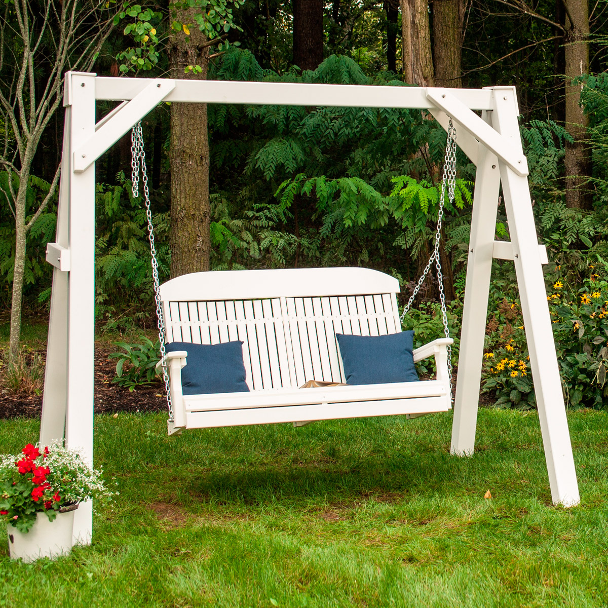 A frame vinyl swing stand luxcraft - Luxcraft fine outdoor furniture ...