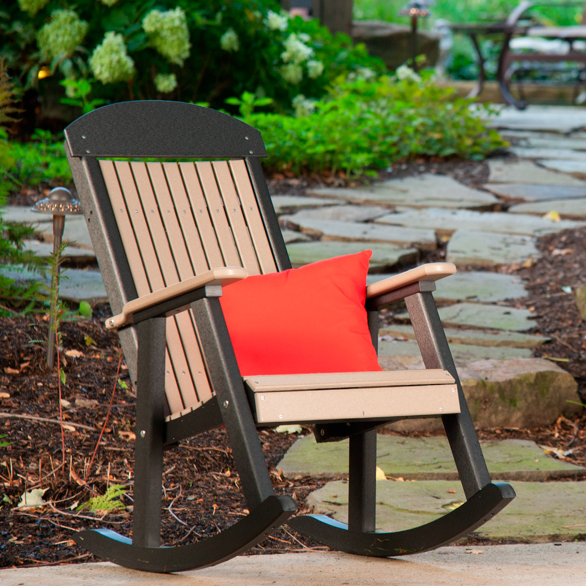 Porch rocker luxcraft - Luxcraft fine outdoor furniture ...