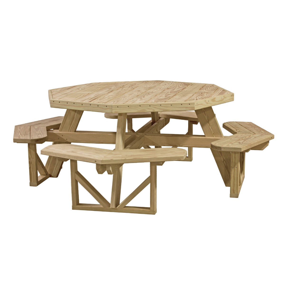 Octagon picnic table luxcraft - Luxcraft fine outdoor furniture ...