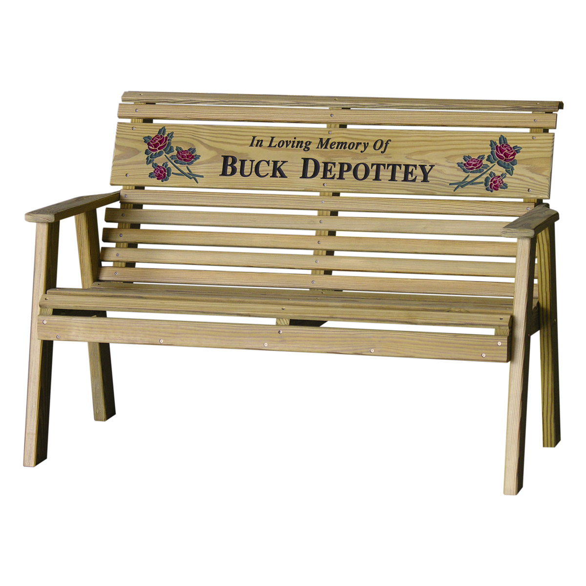 4 39 rollback personalized bench luxcraft - Luxcraft fine outdoor furniture ...