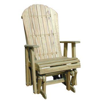 luxcraft-wood-adirondackglider-2ft